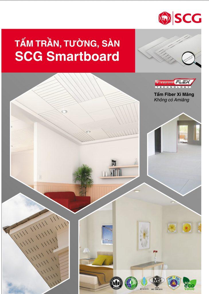 Tấm Xi Măng Sợi SCG Smartboard