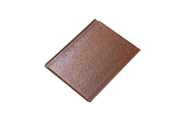 Ngói Màu SCG Dạng Phẳng Màu Log Brown P06