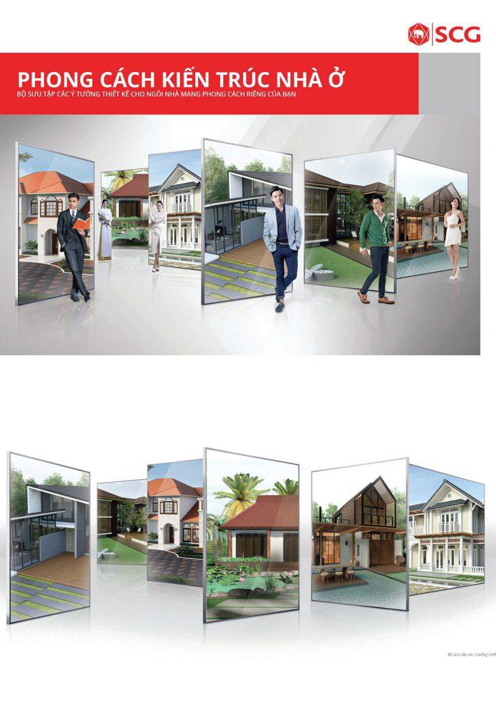Phong cách kiến trúc nhà ở từ SCG
