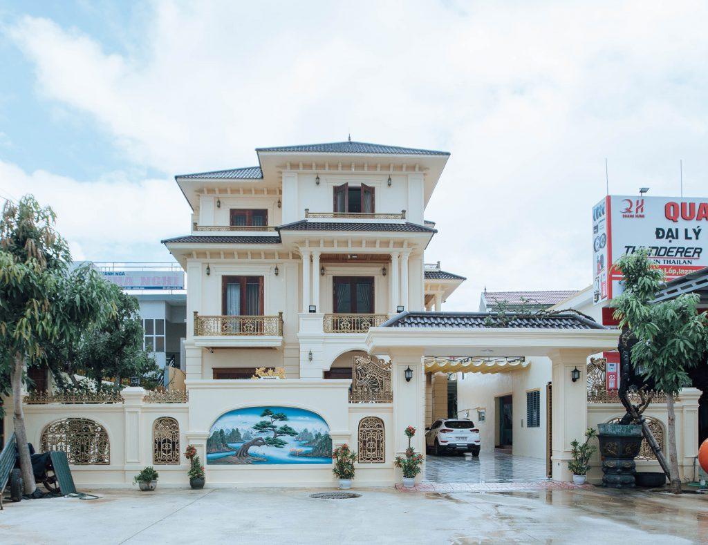 Nhà đẹp sử dụng SCG Super Xi măng tại Quảng Bình